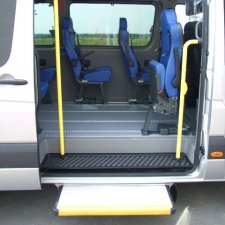 Access Vehicles Australia specialise in Handicap Vans, Disability Buses, Wheelchair Access Vehicle Conversions | AXSTEC ELECTRIC AUTOMATIC SLIDING STEP - ../../dc/prodimages/AXS12_1.jpg