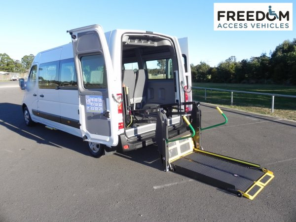 Access Vehicles Australia specialise in Handicap Vans, Disability Buses, Wheelchair Access Vehicle Conversions | RENAULT MASTER BUS WHEELCHAIR ACCESS MODIFICATION - ../../dc/products/RenaultZMasterZFreedomZBusZ1.jpg