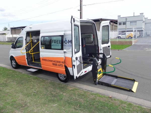 Latest Wheelchair Accessible Vehicle Conversion Specials - LDV BUSES & VANS NOW CONVERTING