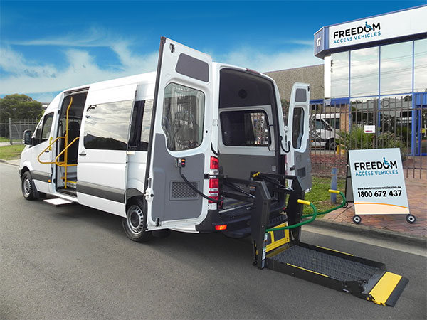 Freedom Access Vehicles (formerly Access Vehicles Australia AVA) specialise in vehicle modifications and conversions to create Wheelchair Vans, Disability buses, large handicap vehicles to suit the Health, Tourism, Community Transport, Taxi and Disability sectors including wheelchair access.
