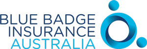 Blue badge Insurance Australia logo